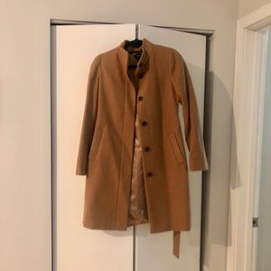 Jcrew wool blend women's coat